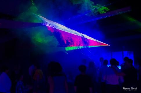 Laser piste